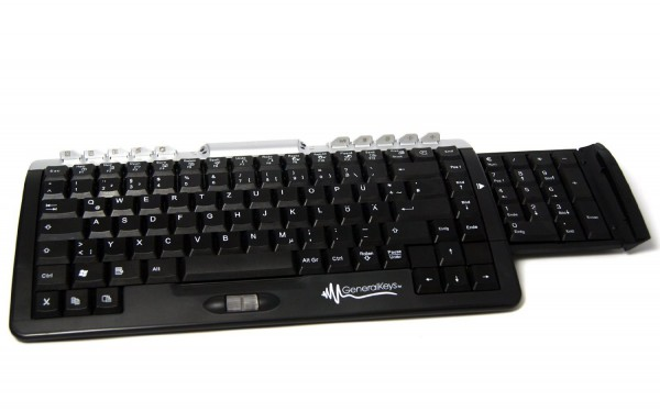General Keys Slim Multimedia Tastatur